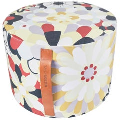 Missoni Home Pouf Large with Handles