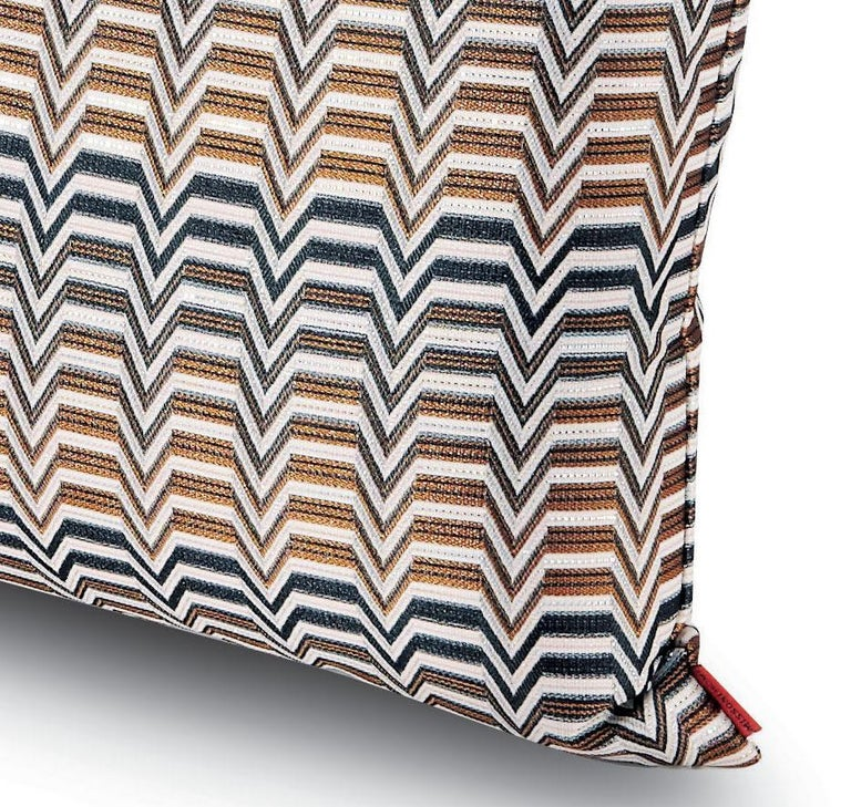 Repeating Greek key pattern. Perfect for adding an elegant touch to any bedroom or living room.  Composition: 100% Polyester. Care: Delicate dry-clean with perchlorethylene.