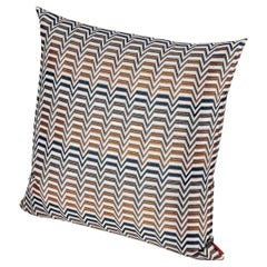 Missoni Home Seattle Cushion in Multi-Color Chevron Pattern