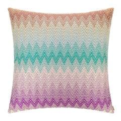 Missoni Home Yamagata Decorative Multicolor Pillow, Cushion, Italy