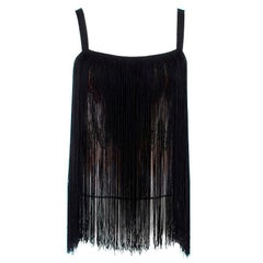 Missoni Metallic Fringed Top S