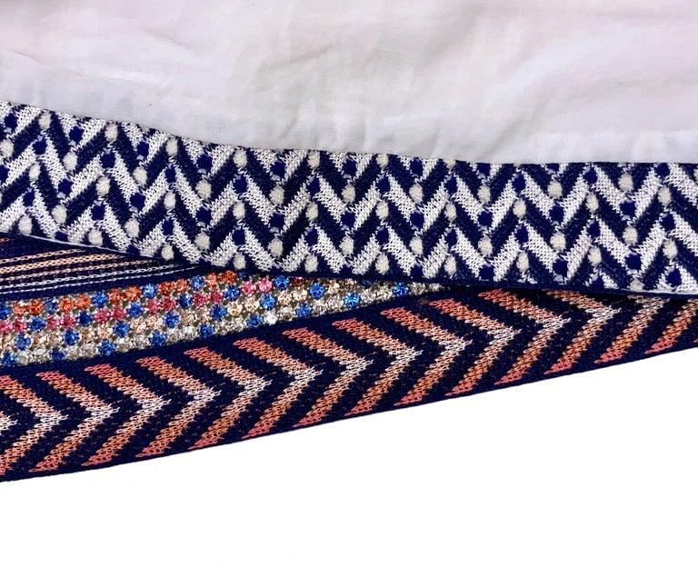 Missoni Multicolor Striped Fabric Dress In Excellent Condition For Sale In Geneva, CH