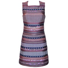 Missoni Multicolor Striped Fabric Dress