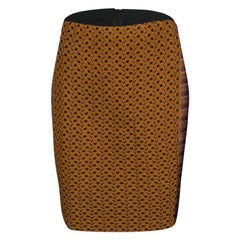 Missoni Multicolor Textured Knit Pencil Skirt M