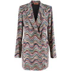 Missoni Multicoloured Knit Jacket IT 42