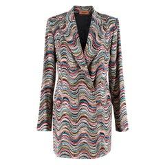 Missoni Multicoloured Knit Jacket SIZE IT 42