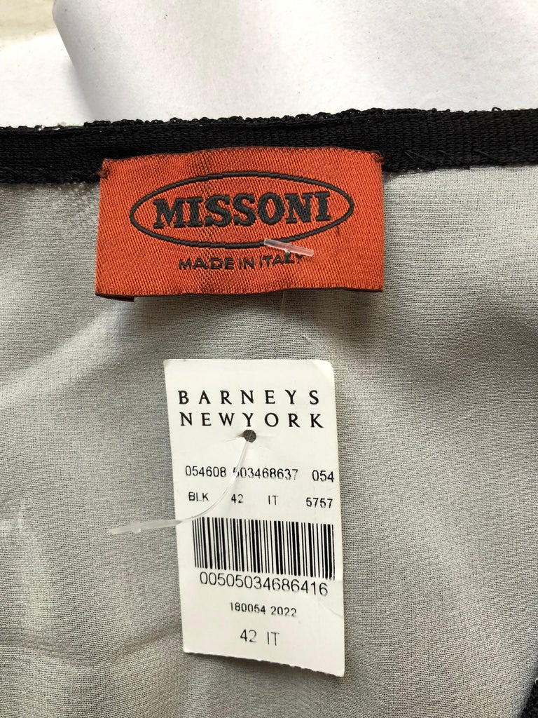 Women's Missoni Orange Label Dress (42 ITL) W/Tag For Sale