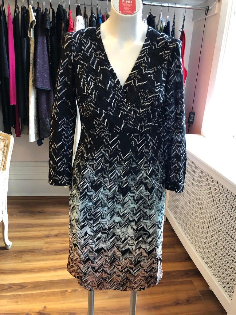 Missoni Orange Label Dress (42 ITL) W/Tag For Sale 2