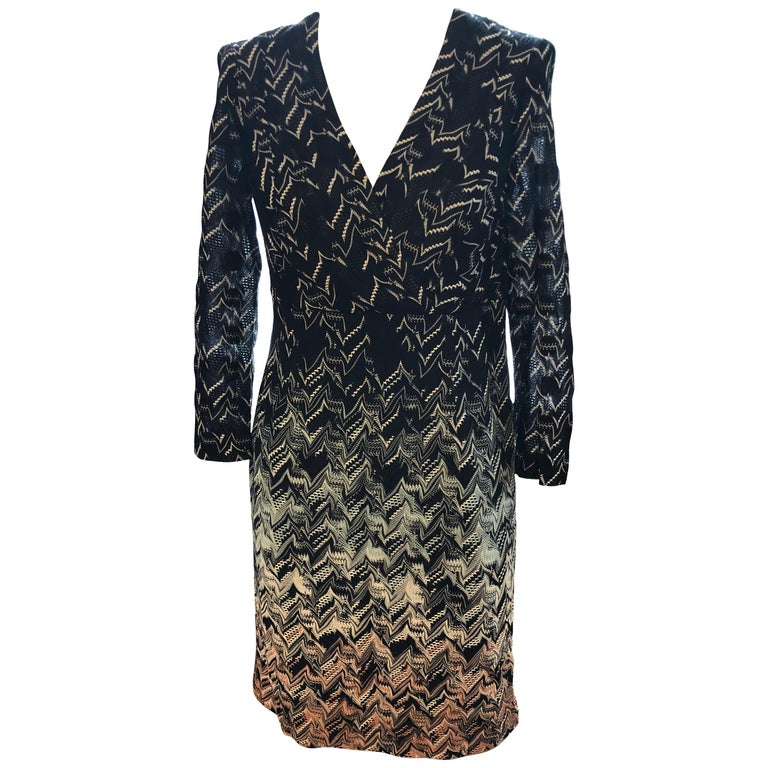 Missoni Orange Label Dress (42 ITL) W/Tag For Sale