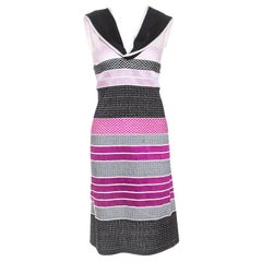Missoni Pink and Black Knit Sleeveless Dress M