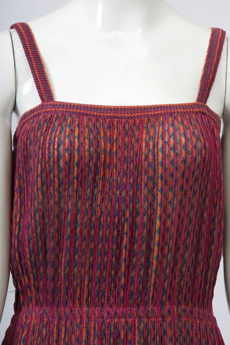 Women's Missoni Raspberry Sundress For Sale