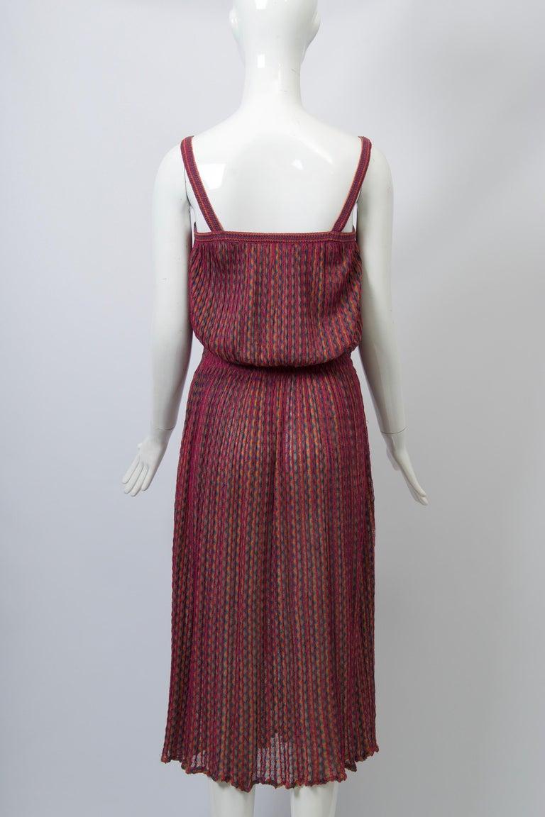 Missoni Raspberry Sundress For Sale 2