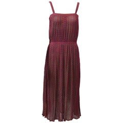 Missoni Raspberry Sundress