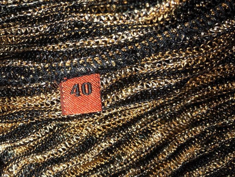 Missoni Signature Zigzag Crochet Knit Mini Dress with Belt For Sale 4
