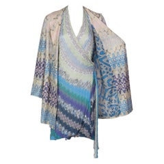 Missoni Sleeveless Halter Dress Belted Jacket Set, 2012