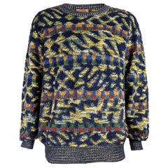Missoni Vintage Mens Mohair Sweater, 1980s