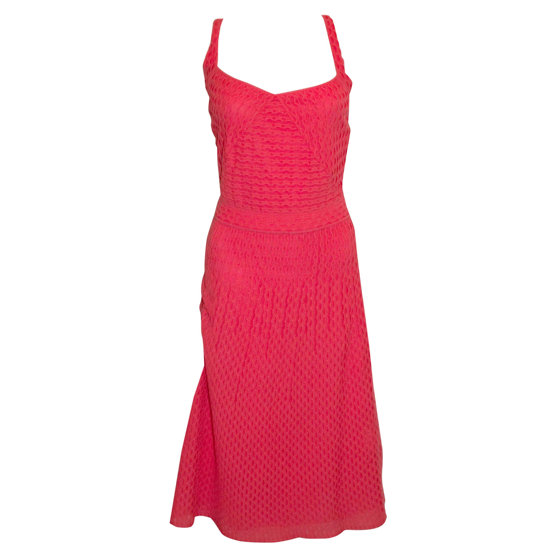 Missoni  Watermelon Pink Summer Dress