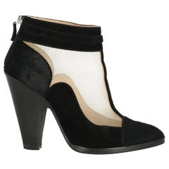 Missoni Woman Ankle boots Black Leather IT 39