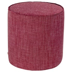 Missoni Home Moomba Yarn-Dyed Solid Cylinder Pouf