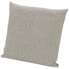 Missoni Home Reserva Cushion in Textured Black & White Cotton