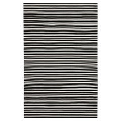 MissoniHome Sergipe Outdoor in Black and White Striped Pattern