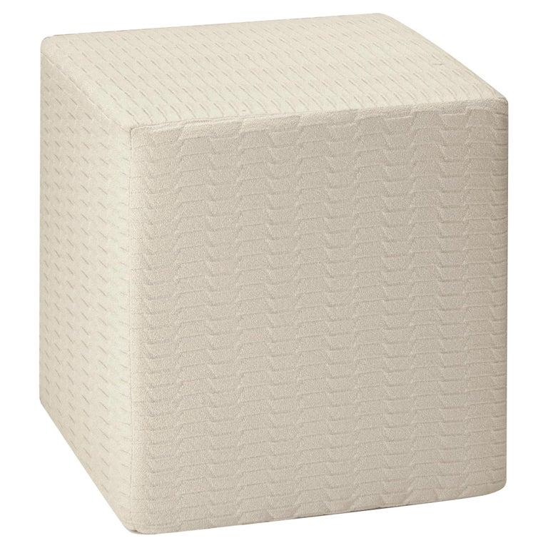 MissoniHome Small Oden Greek Key Pattern Cushion For Sale