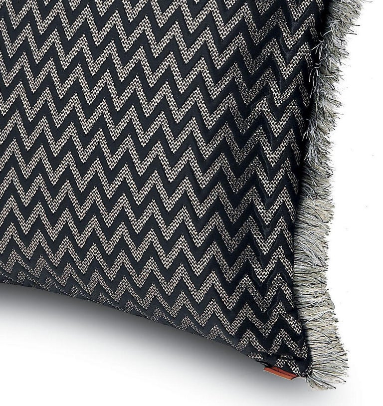 Embossed chevron jaquard. Perfect for adding an elegant touch to any bedroom or living room.