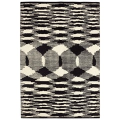 Missoni Home Valdivia Wool Rug in Black & White