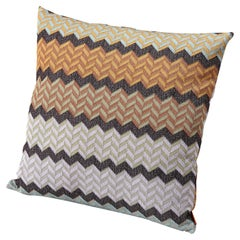 Missoni Home Wael Chevron Cushion with Lurex