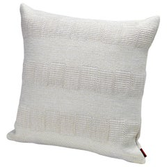 Missoni Home Weda Indoor and Outdoor Cushion with Greek Key Pattern