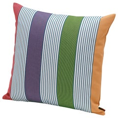 Missoni Home Welkom Indoor & Outdoor Cushion with Enlarged Poppy Pattern