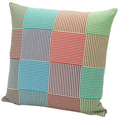 Missonihome Wembley Striped Mosaic Multicolored Cushion
