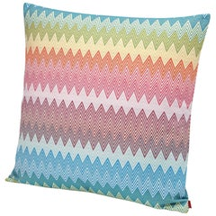 MissoniHome Weymouth Chevron Multicolored Cushion