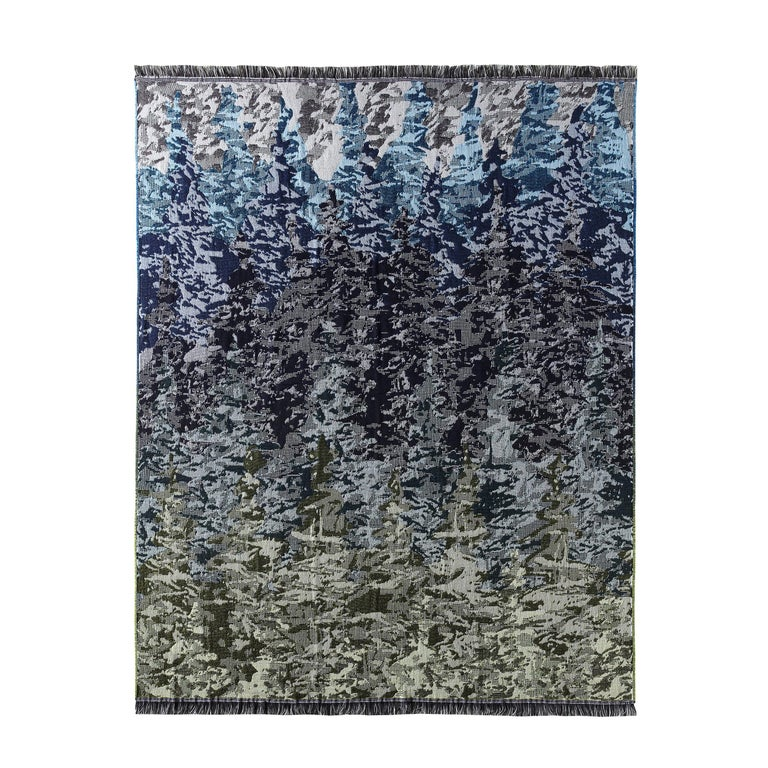 MissoniHome Willow Woven Forest Throw For Sale