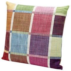 MissoniHome Winchester Jacquard Multicolored Mosaic Cushion