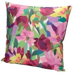 MissoniHome Windsor Large Multicolored Floral Cushion