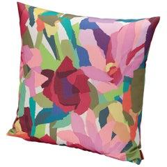 MissoniHome Windsor Small Multicolored Floral Cushion
