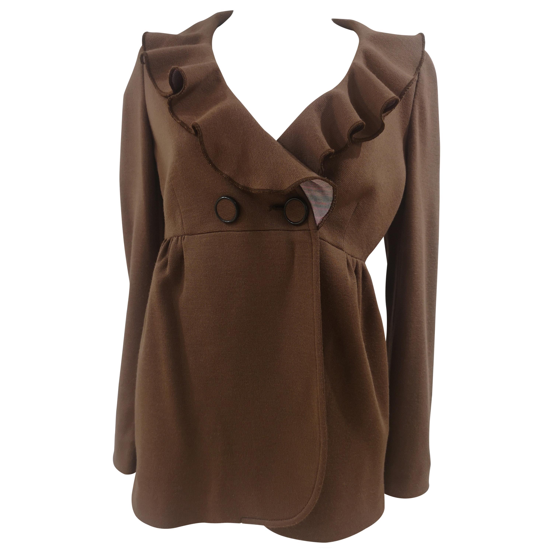 Missoni brown wool jacket