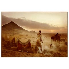 "Mitch Epstein Signed Photograph ""Pushkar Camel Fair, Rajasthan, India, 1978"""