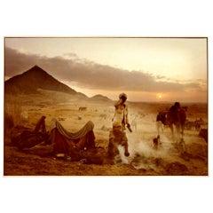 Mitch Epstein Signed Color Photograph Pushkar Camel Fair, Rajasthan India, 1978