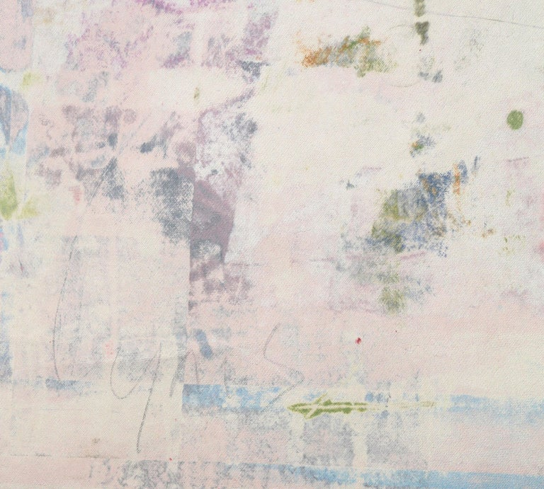 Large Abstract Monotype by Mitch Lyons For Sale 2