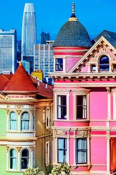 Alamo Square Victorian Houses, San Francisco