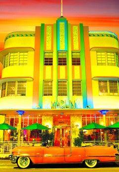 Art Deco Marlin Hotel On South Beach, Miami Beach with Hot Colors