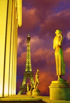 """Art Deco Paris -  Place du Trocadéro Statues  """" Slave to Love"""""""