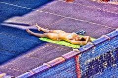 Nude,  Bikini Rooftop
