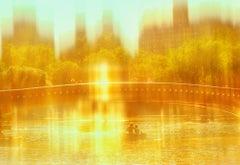 Bow Bridge Landscape in Gold