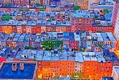 Brownstones,  Upper West Side Neighborhood Manhattan