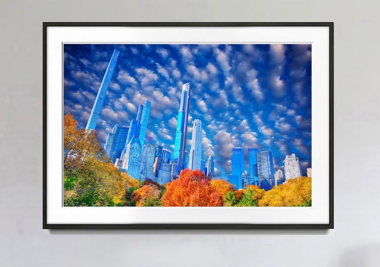 Central Park Skyline Billionaires' Row Manhattan - Photograph by Mitchell Funk