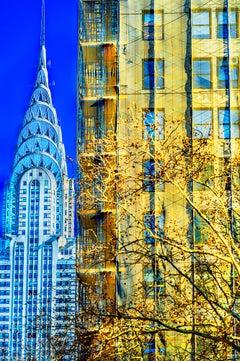 Chrysler Building Art Deco in Minimalist Composition