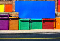 Colored Walls, 42nd st. New York City